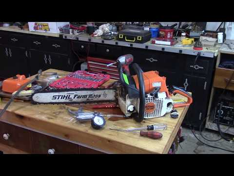 Stihl MS290 Dying At Full Throttle