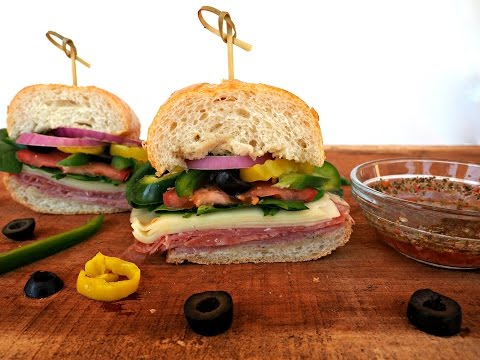 Sandwich Recipe: Classic Italian Sub by Everyday Gourmet with Blakely