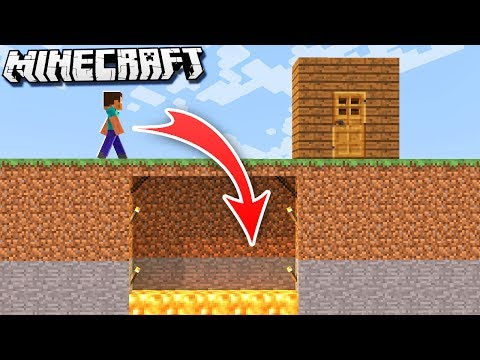 MORE Easy Hidden & Invisible Minecraft TRAPS!