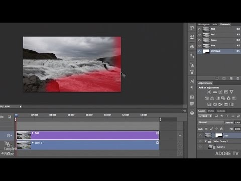 Masking Video in Photoshop for Special Effects