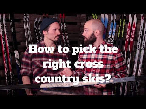 How to pick the right skis | Cross Country Ski | SkatePro.com