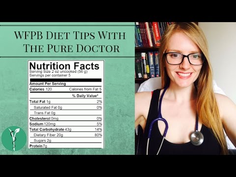 Tips for Reading the Nutrition Label | WFPB | HCLF Vegan Diet | Subtítulos en Español