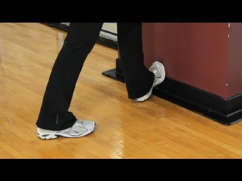 How to Stretch a Calf Cramp : Getting Fit