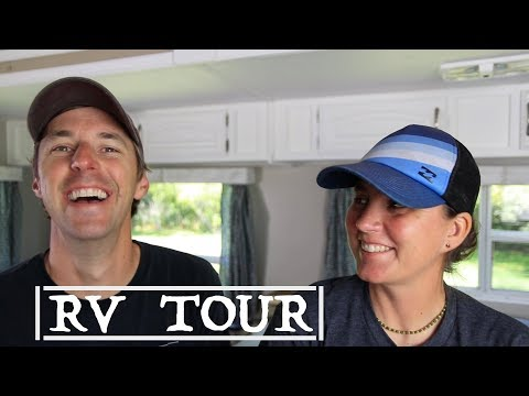 RV Tour 32 Feet BunkHouse Class A vs 5th Wheel vs Travel Trailer! Scottsdale RV Show