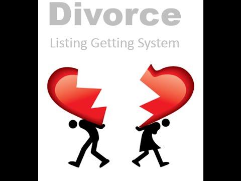 Real Estate Divorce Listing Getting System