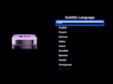 Apple TV Settings