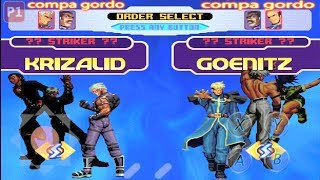 kof 2002 mágic plus 3 green hack ( Tiger arcade ,Fba y Kawaks)