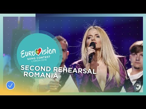The Humans - Goodbye - Exclusive Rehearsal Clip - Romania - Eurovision 2018
