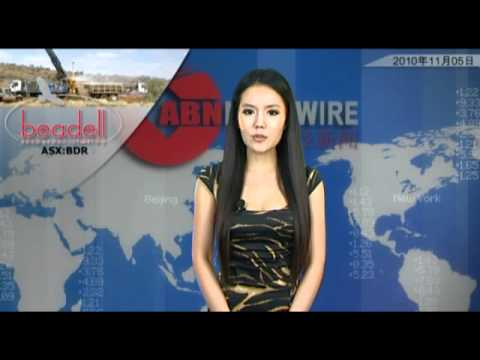 ABN Newswire Australian Market Report of November 5, 2010: Sundance (ASX:SDL) Work With CITIC