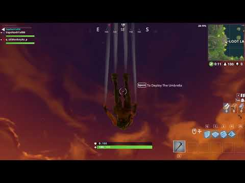 fortnite bug#1  won't render in after the latest update from   17/2/18