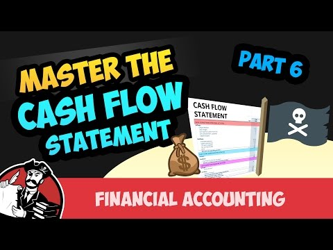 Cash Flow Statement: Investing and Financing Activities (Financial Accounting Tutorial #70)