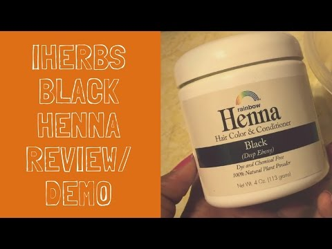 iHerbs Black Henna | Hair Dye Review & Demo | Selena Thinking Out Loud | Plant-Based Hair Dye