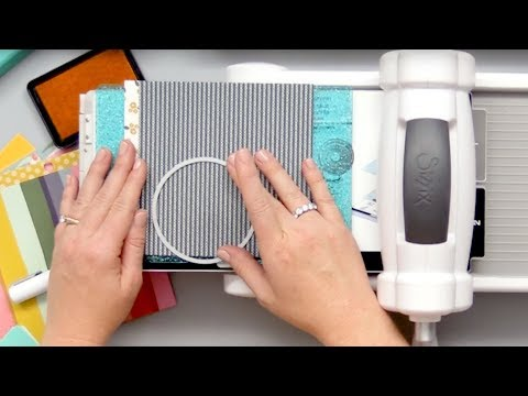 How to Use Manual Die Cutting Machines with Carissa Wiley
