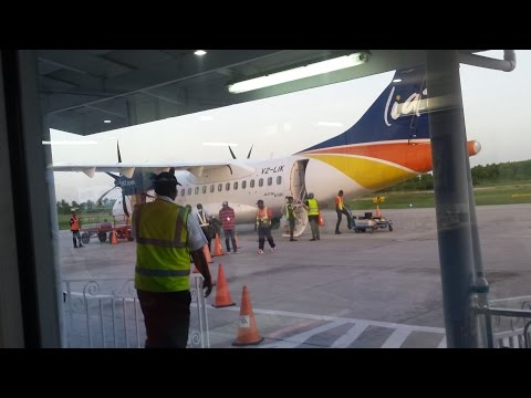 LIAT ATR42-600 Guyana to Barbados *Full Flight* 1080p [HD]