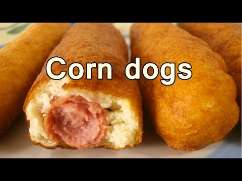 The easiest corn dogs of the world!!