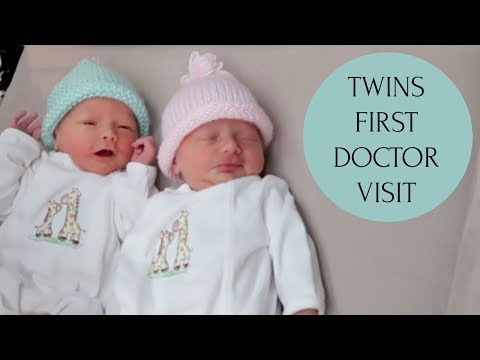 TWINS FIRST DOCTOR APPT | UPDATE