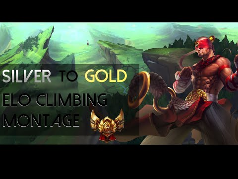 Elo Climbing Montage Silver To Gold #1 [Zed Lee Sin Fizz]