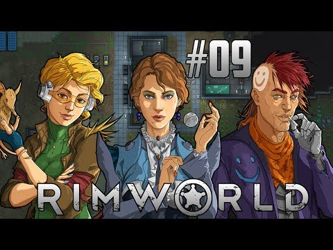 RimWorld Alpha #09 - Batteries Back-to-Back