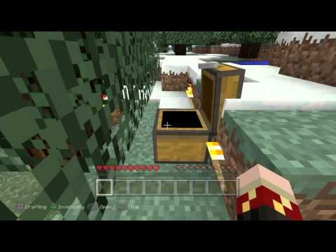 How to make the bonus chest respawn in Minecraft PS4!!!!!