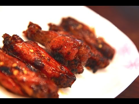 SPICY HONEY BBQ WINGS in the Pressure Cooker!