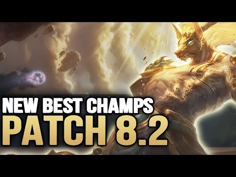 New Best Champions in Patch 8.2 SEASON 8 for Climbing in EVERY ROLE (League of Legends)