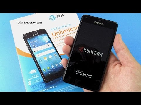 Kyocera Hydro Shore Hard reset, Factory Reset & Password Recovery