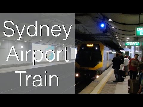 Catching the Train from Sydney Airport to the City