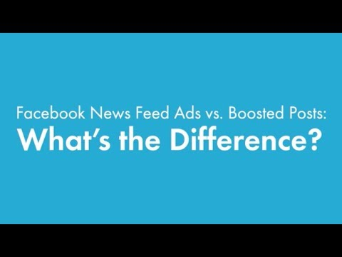 What's the Difference Between Facebook News Feed Ads & Boosted Posts? | ReachSocial Ads | ReachLocal