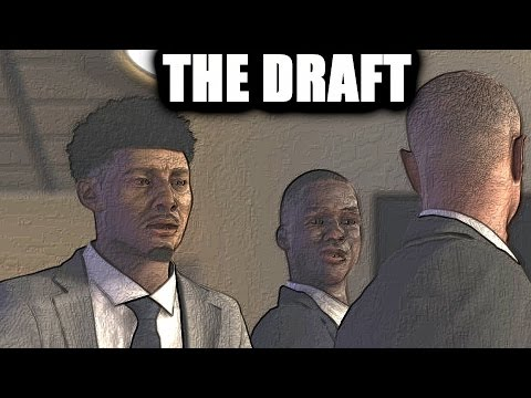 UNCLE DAWKINS GOT HIS G.E.D. WENT TO COLLEGE AND GOT DRAFTED NBA 2k my career