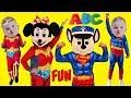 Superhero Babies Learn ABC Song Alphabet MASHUP Sing Along Songs For Kids Nursery Rhymes