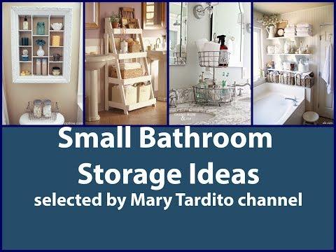 Small Bathroom Storage Ideas