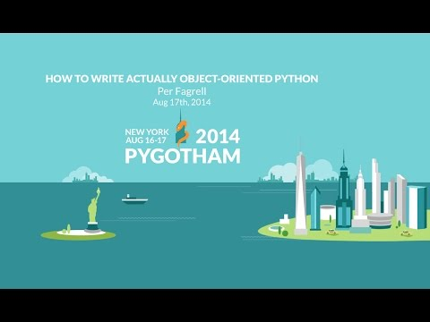How to write actually object-oriented python - Per Fagrell