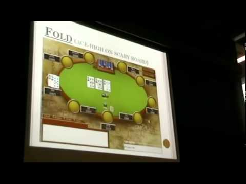 Will Ma MIT Lecture: How to Win at Texas Hold'em Poker, Lecture 2, Part 2 of 2