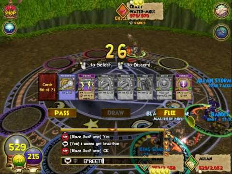 wizard101 efreet the lvl 58 fire spell