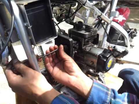 49cc cat eye pocket bike repair