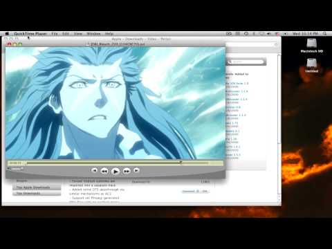 How to Play AVI files on Macbook - Using Perian Codec with Quicktime