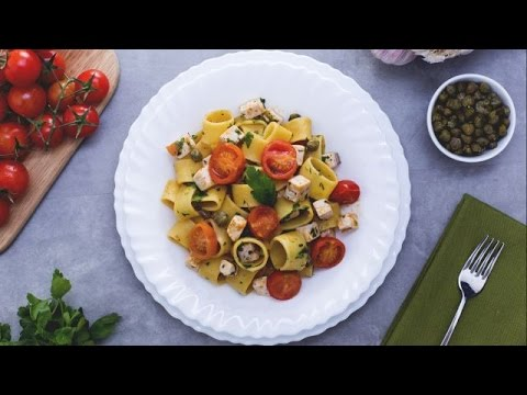 Pasta with swordfish ragout - recipe