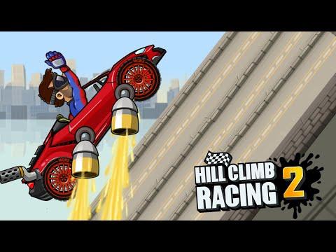 Lambo In Long Adventure Jump Event | Hill Climb Racing 2