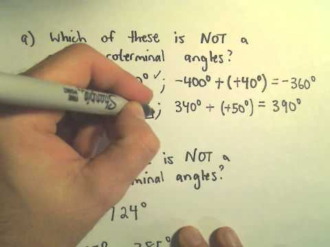 Coterminal Angles - Example 2