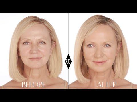 Foundation for Mature Skin: Charlotte Tilbury Magic Foundation Makeup Tutorials