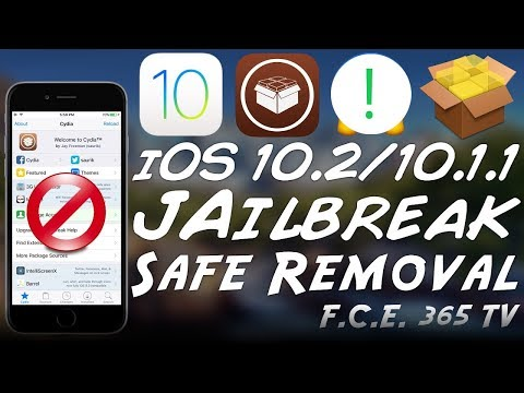 iOS 10.2 - How to Remove The Jailbreak Safely (Unjailbreak)