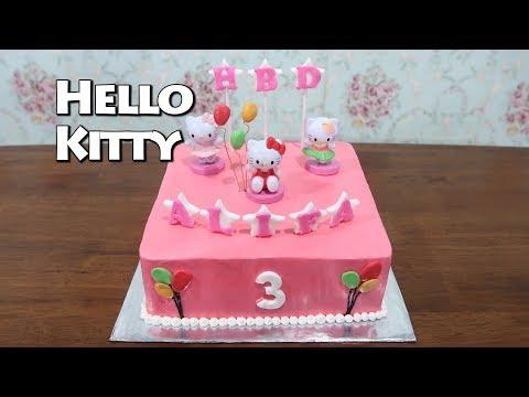 Kue Ulang Tahun Anak Perempuan Hello Kitty Cake