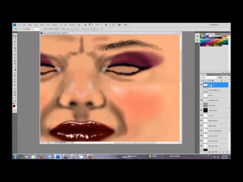 How to make Second Life Skin with Photoshop By Quark Yifu