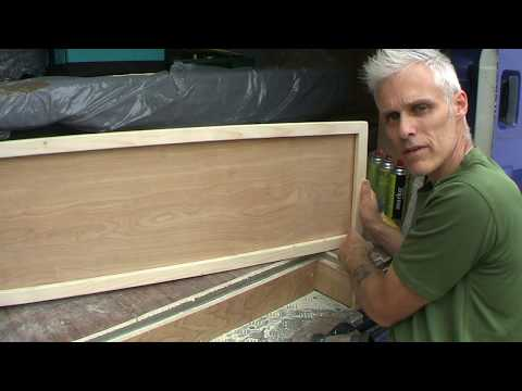 Camper Van Build - Part 14 Making more doors