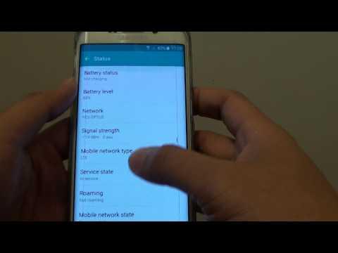 Samsung Galaxy S6 Edge: How to Find Wi-Fi MAC Address