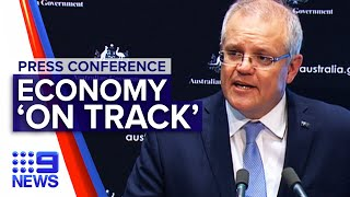 Breaking News: Scott Morrison reveals Australia 'on track' | Nine News Australia
