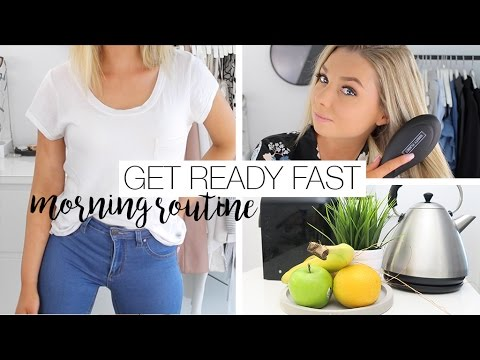 How To Get Ready Fast - Morning Routine Hacks
