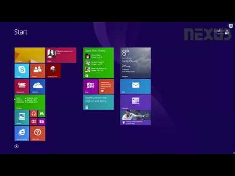 Guide to the basics of Windows 8.1