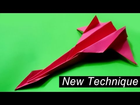 How to make the best paper airplane in the world | Very Easy| #2
