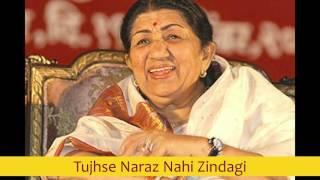 Tujhse Naraz Nahi Zindagi - Lata Mangeshkar best early 80